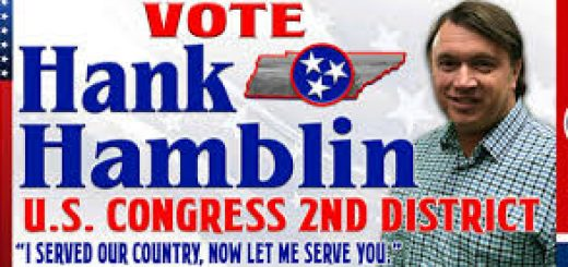Hank Hamblin ad for U.S. Congress TN 2nd District