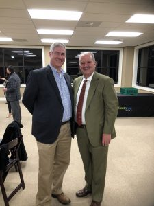 Loudon County Property Assessor Mike Campbell and Mayor Aikens