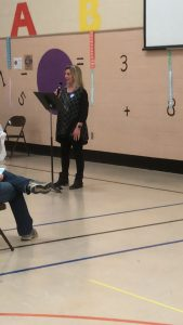 Sherry Witt at South Knox Alliance on Monday April 2, 2018