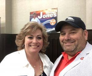 Amy Jones, Candidate for TN Republican State Executive Committeewoman for Loudon, Anderson and part of Knox County, Lt. Gov. Randy McNally's district.
