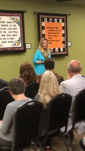Sherry Witt at Council of West Knox County Homeowners on April 3, 2018