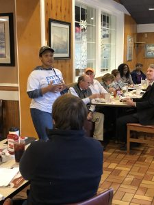 Evetty Satterfield, one of three candidates for Knox County School Board First District