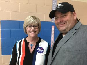 Lisa McBride, wife of Knox County Register of Deeds candidate Nick McBride and Me