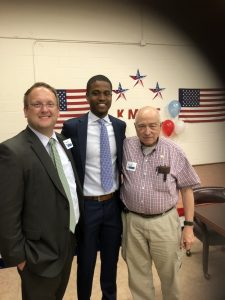 Republican Candidate for Knox County Commission at large Seat 11 Justin Biggs, Troy Whiteside and Mike Crain