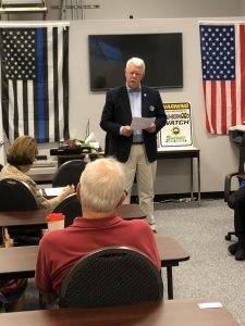 Ron Williams, Mayor Town of Farragut Alderman on August 2, 2018 at Concord Farragut Republican Club