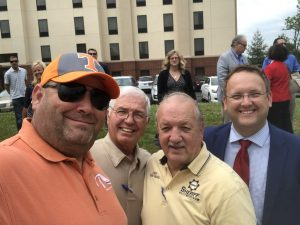Myself, Ivan Harmon, KCSO Chief Eddie Biggs and Justin Biggs, the Republican nominee for Knox County Commission at Large Seat 11
