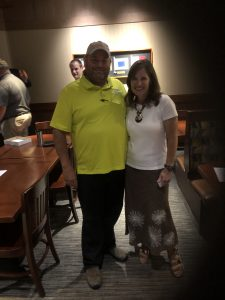 Brian Hornback with TN Second Congressional Candidafe Ashley Nickloes