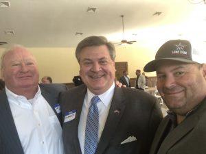 John Valliant, former Knox County Democrat Chairman, Lou Moran II and Brian Hornback former Knox County Republican Chairman