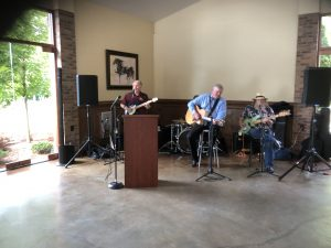 The Chillbillies were the musical entertainment for the event.