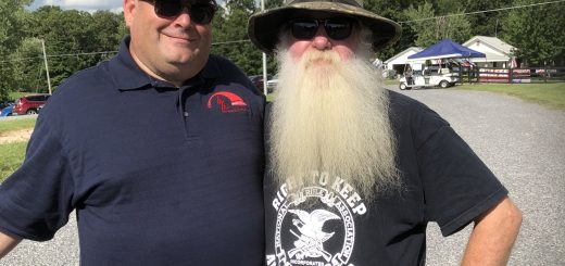 "Brian Hornback and Mark ""Coonrippy"" Brown"