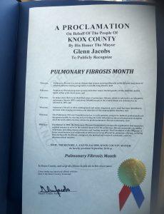 Knox County, TN Proclamation.
