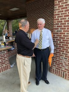 Congressman Duncan talks with Steve West