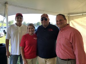 Patrick Jaynes of Senator Alexander's office, Susan Mills of Blount County Republican Women, Myself and Scott Golden, TN Republican Chairman.