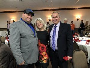 Myself, Lenoir City Vice Mayor Jennifer Wampler and Loudon County Trustee Chip Miller