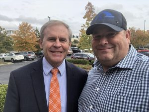TN State Rep. and TN Speaker Pro-Tempore Elect Bill Dunn and I on 11/5/2018