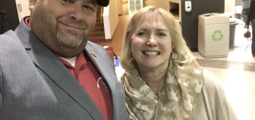 Myself and MY State Senator Becky Duncan Massey at the 2018 Ken Yager Chili Supper