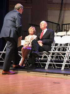 Congressman Dr. Phil Roe talking with Honey and Senator Lamar Alexander