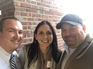 Loudon County Trustee Chip Miller, his fantastic wife Joy and me