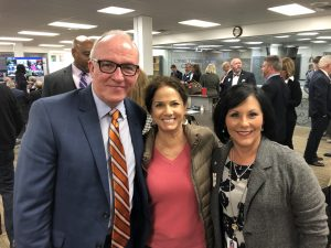Eddie Mannis, Maria Lee and Knox County Commissioner Michele Carringer