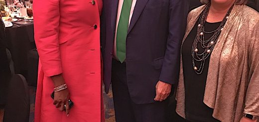 Democrat Governor candidate Karl Dean, Knoxville Mayor Madeline Rogero with Gill. *taken from social media