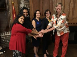 Knoxville City Councilwoman Seema Perez, State Rep. Gloria Johnson along with others and Gill *taken from social media