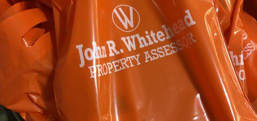 John Whitehead, Knox County Property Assessor provided the bags