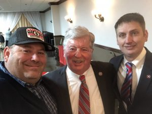 myself, Lt. Governor Randy McNally and State Rep. Lowell Russell