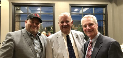 Myself, Lenoir City Mayor Tony Aikens and Mike Ragsdale