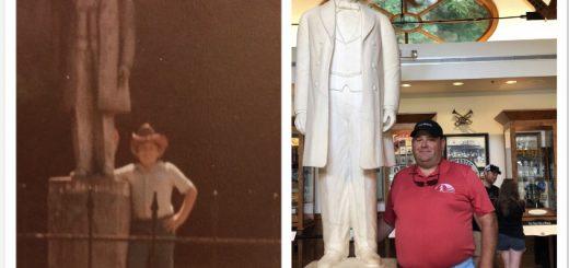 One of us has gotten taller.