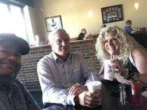 Myself, Randy Guignard and Kim Isenberg