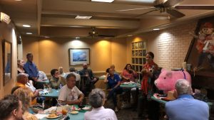 Janet Testerman at the 8/22/2019 Center City Conservatives Republican Club