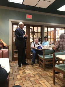 Knox County Property Assessor John R. Whitehead speaking at the Powell Republican Club 8/15/2019