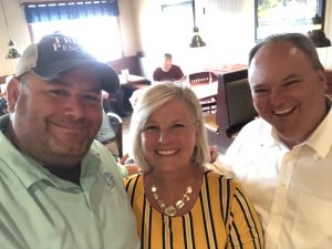 Myself with Knox County District Attorney General Charme Allen and Kevin Allen