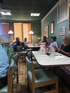 Folks at the Powell Republican Club on Thursday 8/15/2019