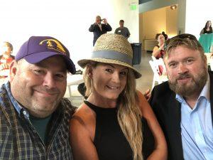 Myself with Lori and Hank Hamblin