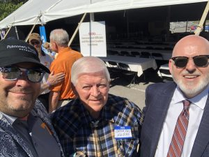 Myself with longtime friend Broadus Hubbs and Knox County Commissioner Richie Beeler