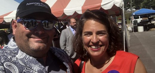 Knoxville Mayor Indya Kincannon and I at the TVA&I Fair Government and Business Leaders Lunch in September 2019