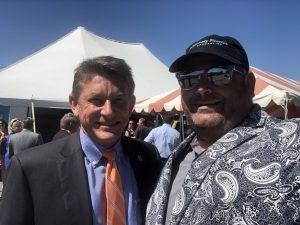 UT President Randy Boyd and I
