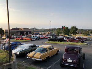 the view of many of the cars BUT not all of them