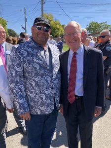Senator Lamar Alexander and I