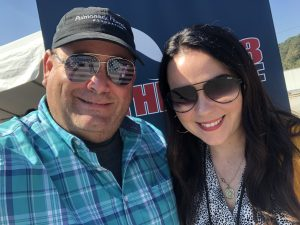 Myself and The Carina Lime from 100 The Wolf. She is on with Opie Joe from 3-7 pm Monday through Friday