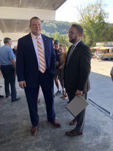 Knox County Mayor Glenn Jacobs and Biggs