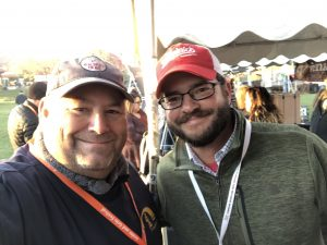 Chris Canale of Memphis Old Dominick and me