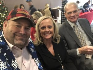 Myself, Jackie Raley and Knox County Property Assessor John R. Whitehead