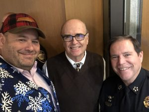 Myself, Trustee Ed Shouse and Sheriff Spangler