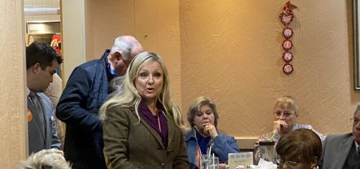 Rhonda Lee, candidate for Public Defender speaking at the Center City Conservatives Republican Club 1/23/2020