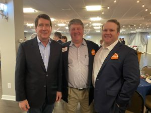 Ambassador Hagerty with My friend Jerry Sharp and his son Brad Sharp
