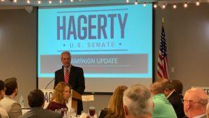 TN Strategies Mike Ragsdale introducing Ambassador Bill Hagerty