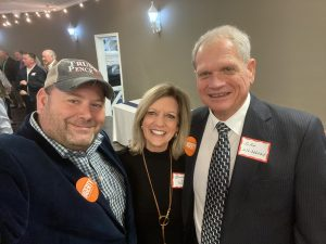 Me, Knox County Clerk Sherry Witt and Knox County Property Assessor John R. Whitehead