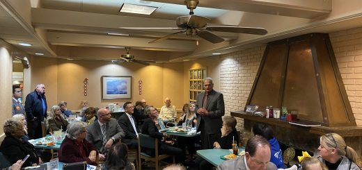 John R Whitehead speaking to the Center City Conservatives Republican Club 1/23/2020